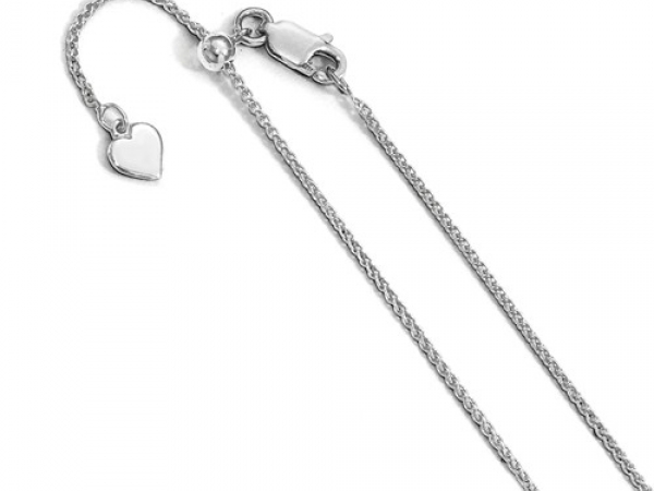 Sterling Silver Chains by Leslie