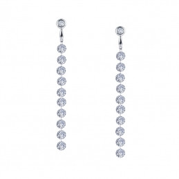 Sterling Silver with Platinum Overlay Rings, Earrings and Necklaces by Lafonn Jewelry