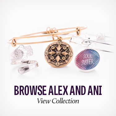 Alex and Ani jewelry and bracelets available at Ace of Diamonds