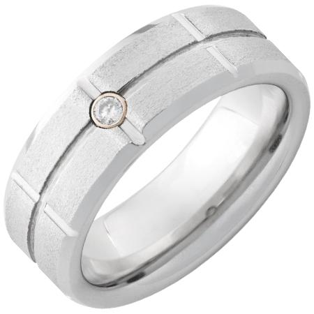 Men S Serinium Rings 001 448 00326 Vitalium From Ace Of Diamonds Mount Pleasant Mi