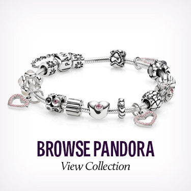 Pandora Charms, Beads and Jewelry available at Ace of Diamonds